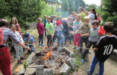 Škola v přírodě Esprit – pondělí