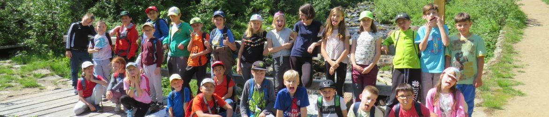 Škola v přírodě – 2. a 3. den